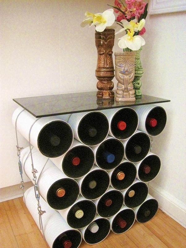 Mod Table 15 Easy Diy Wine Racks To Make Lifestyle