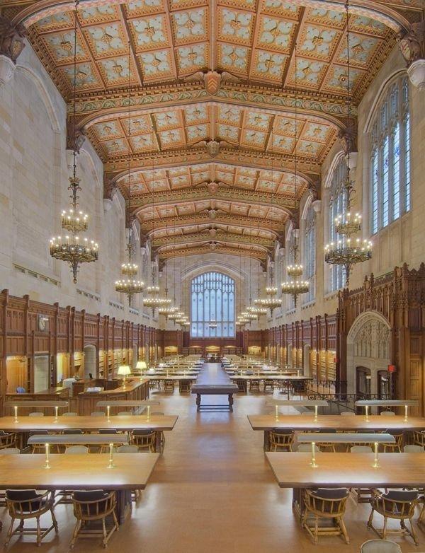 University of Michigan Law Library\u2014US - 25 Most Gorgeous College\u2026