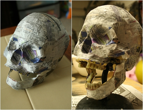 Papier Mache 10 Cool And Creative Diy Skull Craft