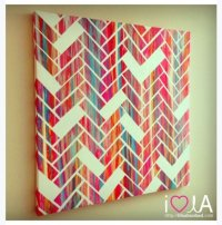 Create a Pattern - 7 Creative DIY Canvas Art Projects to ...