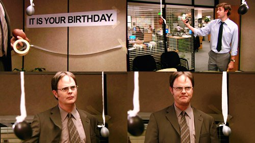 It is Your Birthday - 10 Best Jim and Dwight Moments from the\u2026