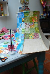 Patchwork Lampshade - 22 Diy Lampshades You Can Make at ...