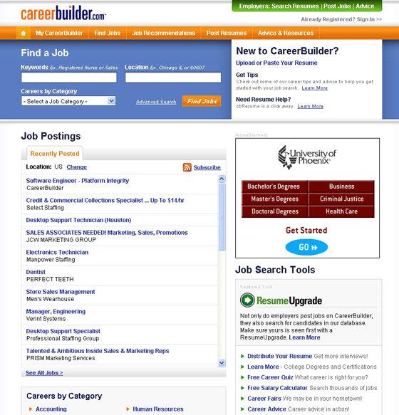 CareerBuilder - 10 Best Job-Searching Websites \u2026 \u2026