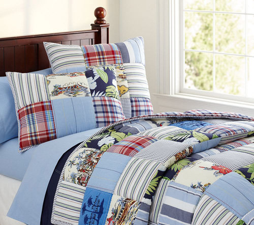 Pottery Barn Kids Key West Quilted Bedding 8 Best