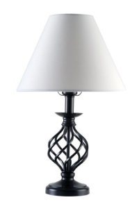 Wrought Iron Table Lamp - 7 Pretty Lamps for Your Home ...