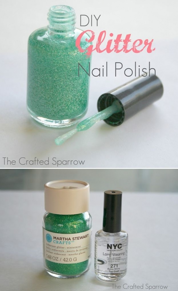 2 Glitter Nail Polish Diy 39 Awesome Nails Hacks That Make