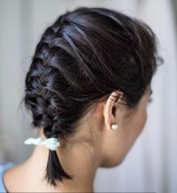 Try a French Braid - Hair Inspiration: Super Ways to Dress up