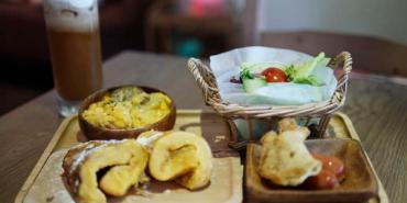 【台北美食】11 CAFE'。松山文創園區旁溫馨咖啡館。松菸誠品