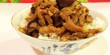【手作料理】食譜 ● 偷吃步香菇魯肉 ● 香噴噴扒飯一口接一口 ❤❤