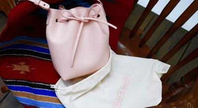 【精品】MANSUR GAVRIEL櫻花粉水桶包,saffiano新材質被我買到了!