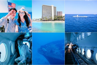 【夏威夷-歐胡島】亞特蘭提斯Atlantis Submarine潛水艇~一窺海底世界