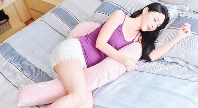 【懷孕大小事】孕人必備!英國Dreamgenii孕婦枕~從孕中期開始陪我好睡的超級好物❤