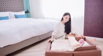 【育兒】活動性超高的日本farska溫婉木質多功能嬰兒床&外宿神器可攜式床墊組