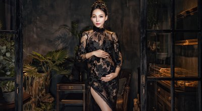 【孕婦寫真】滿足我的時尚巨星,女王夢~Tiamo Photography孕婦寫真無極限