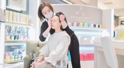 【保養】再忙也能享受的速效保養,Espace Beauté EB counter-櫃上精油嫩膚修護體驗