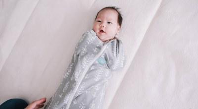 【育兒】提早睡過夜的育兒神器❤花色超美~澳洲ergoPouch二合一舒眠包巾