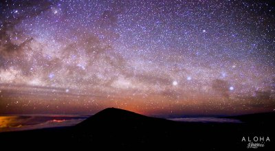 【夏威夷-大島】美爆了的星空,海拔4200公尺的Mauna Kea茂拉凱亞火山頂