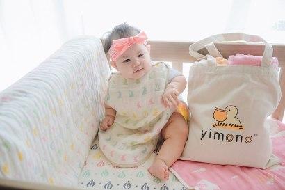 【育兒】Yimono日本製三河木棉六層紗被 & 防踢背心