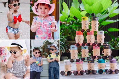 【育兒】時尚養成班,最適合寶寶的法國Ki ET LA太陽眼鏡/遮陽帽,2018新花色
