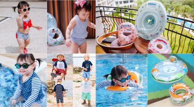 【育兒】Baby的夏季玩水特輯!英國Swimava泳具新花色+美國RuffleButts & RuggedButts防曬泳衣!