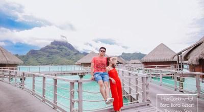 【大溪地BoraBora】洲際InterContinental Bora Bora Resort & Thalasso Spa坐擁山景跟海景的無敵水上屋