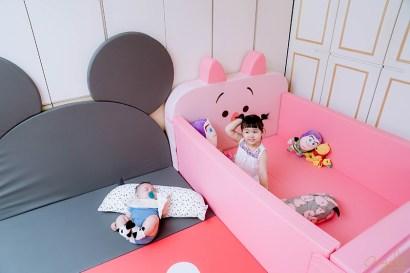 2019超人氣!爆可愛!韓國ALZiPmat DISNEY聯名系列:多功能圍欄沙發床 &多功能摺疊地墊