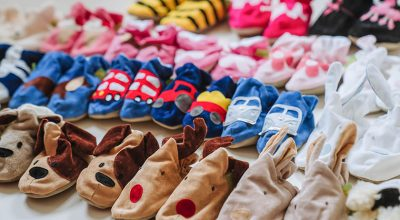 【育兒】超可愛的英國手工鞋FunkyFeet,保護寶貝小腳丫的第一雙室內鞋!