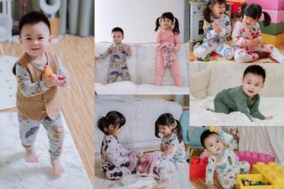 【育兒】超級可愛又透氣~從嬰兒到大童都可穿的kikistory韓國家居服!