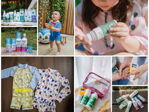 夏日防護團:防蚊超有感的紐西蘭Skin Technology派卡瑞丁長效防蚊液&慕之恬廊高效性兒童防曬乳SPF50+