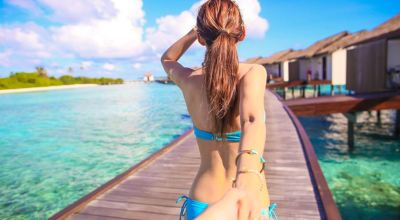【2015蜜月】馬爾地夫♡The Residence拍照的好地方!無邊際泳池曬太陽&浪漫木棧道