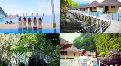 ▌巴拉望Palawan ▌週年約定♥探訪生態自然美景跳島,全包度假村,追海豚七日總覽