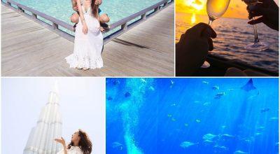 【2015蜜月】神秘中東&世界最美的島嶼♥淺談奢華雙城杜拜&馬爾地夫♥
