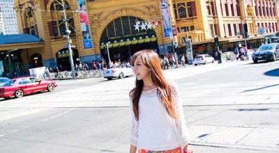 ▌澳洲  ▌DAY6墨爾本的都市光觀日~城市電車初體驗♥