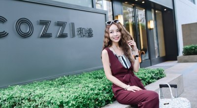 【台北】簡約採光棒HOTEL COZZI台北民生館住一晚♡與姐妹外宿的小旅行