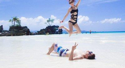 ▌長灘島 ▌Boracay♥DAY3 放空的S1白沙灘玩水&求婚策劃Dmall買花行動
