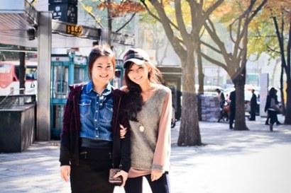 ▌旅遊穿搭 ▌安妞~安啾的Korea旅遊連線11/2-3穿搭日記update