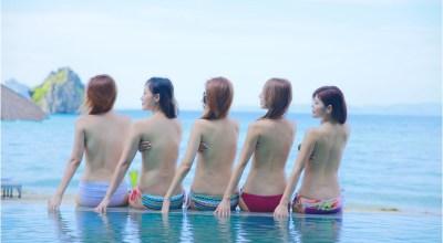 ▌巴拉望 ▌Palawan♥阿普莉度假村無邊際泳池.浪漫沙灘.神秘絕美沙尾島探險♥