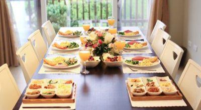 ▌旅遊 ▌桃園花澗集度假別墅‧BBQ、早餐跟午茶篇