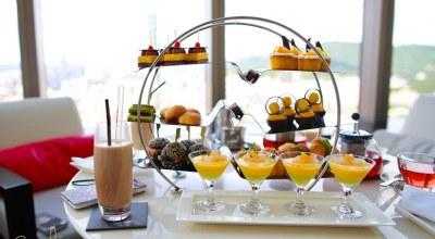 ▌台北 ▌無敵View的馬可波羅酒廊38F午茶&香格里拉台北酒店自助早餐♥