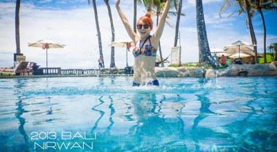 ▌峇里島 ▌巴里島浪漫婚拍♥看得到海神廟的Pan Pacific 泛太平洋度假酒店♥設施,餐食(影音)