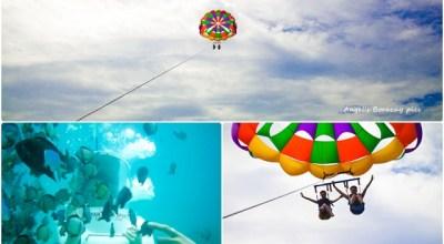 ☀自助長灘島Boracay☀島上玩樂【水上活動拖曳傘+海地漫步】很刺激但我暈了!!