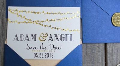 ▌My Wedding ▌自己的喜帖自己做♥我們的厚卡華麗喜帖♥