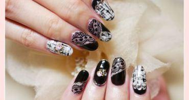 【指彩】今年秋冬奢華一下!! 讓毛呢❤蕾絲悄悄爬上指間