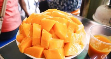 【台南美食】冰鄉。高CP值台南必吃芒果冰! 一次享受4種芒果~食尚玩家推薦