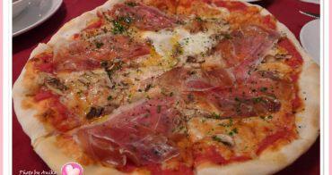 【妮。愛吃】在這兒享用道地義大利Pizza。La Famiglia 喬利堤羅馬料理