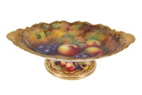 Royal Worcester fruit bowl, - Showcase Auction - Scammell ...