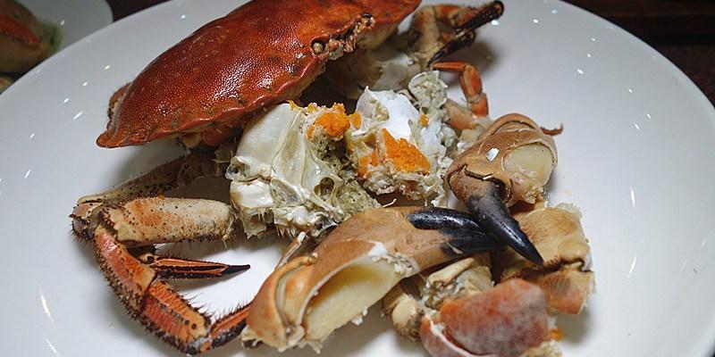 【台中西屯】大祥海鮮餐廳;前日月潭涵碧樓主廚料理,老饕推薦的海鮮熱炒餐廳,不用到秋天就能吃肥滿螃蟹饗宴!適合家族好友聚餐。