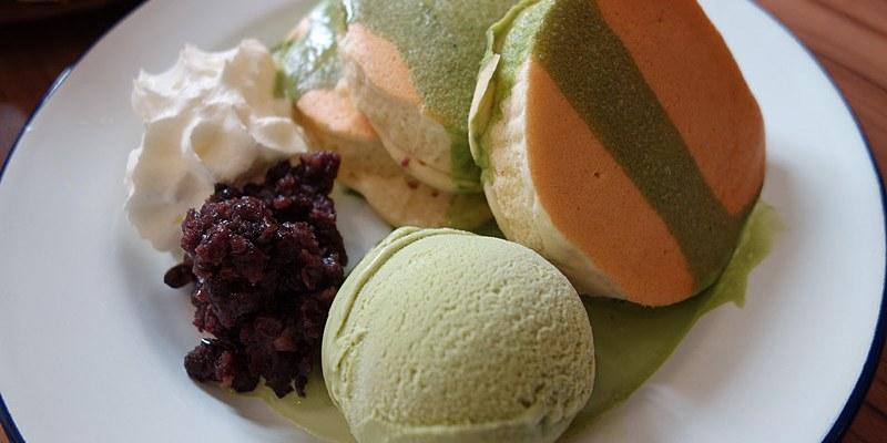 【台中西區】春田210;舊房子裡的清爽輕食,日式厚鬆餅超吸引人!餐點跟下午茶表現都相當優質。