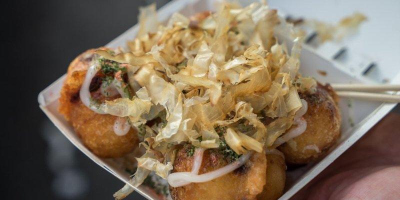 台鄉味米製酥脆章魚燒|虎尾特色脆皮章魚燒,用料紮實章魚超大塊,外脆內Q軟,獨門章魚燒就在這。