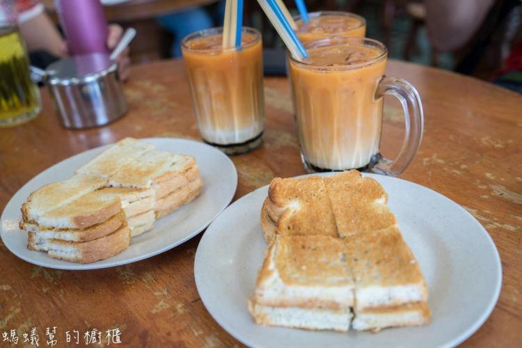 沙巴亞庇美食馮業茶室|加雅街美食推薦,獨門叻沙、咖椰醬吐司、三色奶茶,週日順道逛加雅街市集。